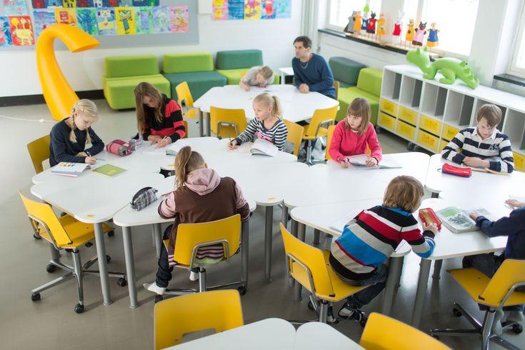 Pinta-koulupöytä | Koulukalusteet | Martela