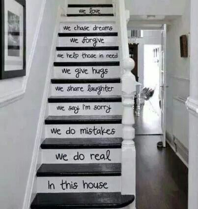I wish I could do something like this with my stairs