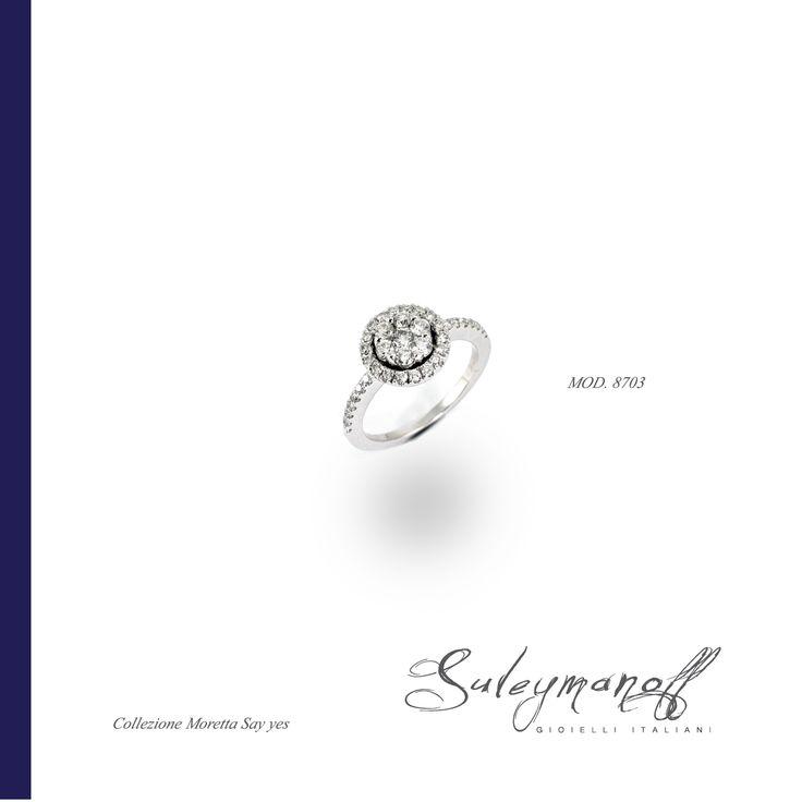 Collezione Moretta, Say Yes, Diamanti su oro bianco
