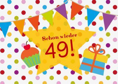 Witzige, Bunte Einladung, Die Anspielt Auf Den 50. Geburtstag, Für Alle,