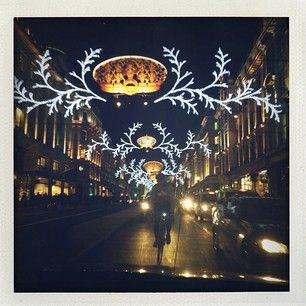 I ♥ U London #regentstreet #christmaslights by @Rosie H-W