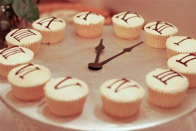 Cupcake Clock--Happy 2012! | A Silver Nutmeg Blog