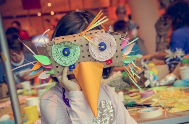 Wearable ZOO Masks Tinkering Workshop