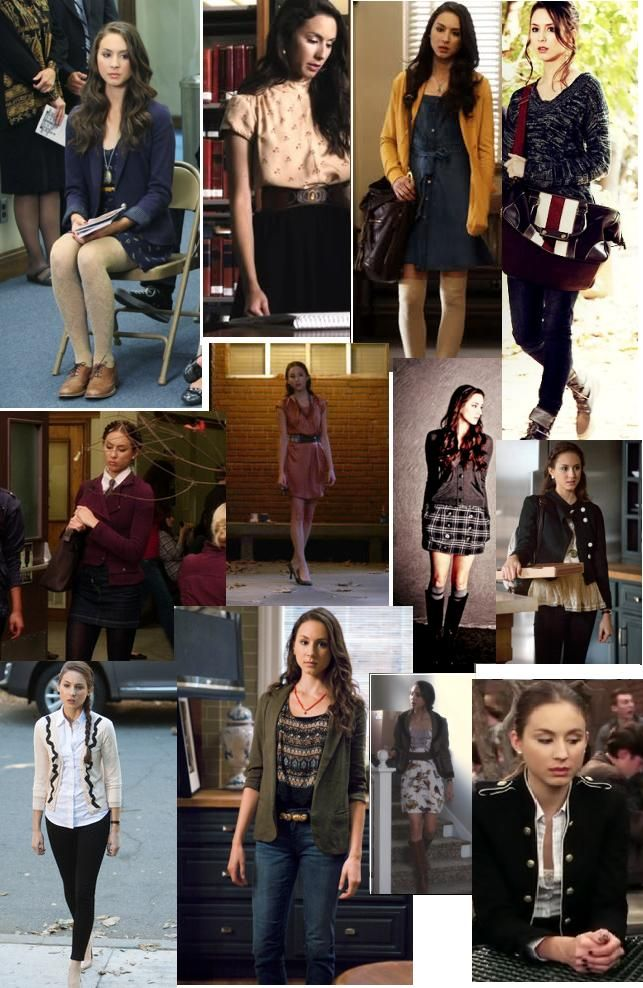 Pretty Little Liars Spencer  Preppy fashion    Combat boots Tights and knee socks Cardigans,Oxford shoes, Collar shirts LoVe It!!!!!!!!!!!!