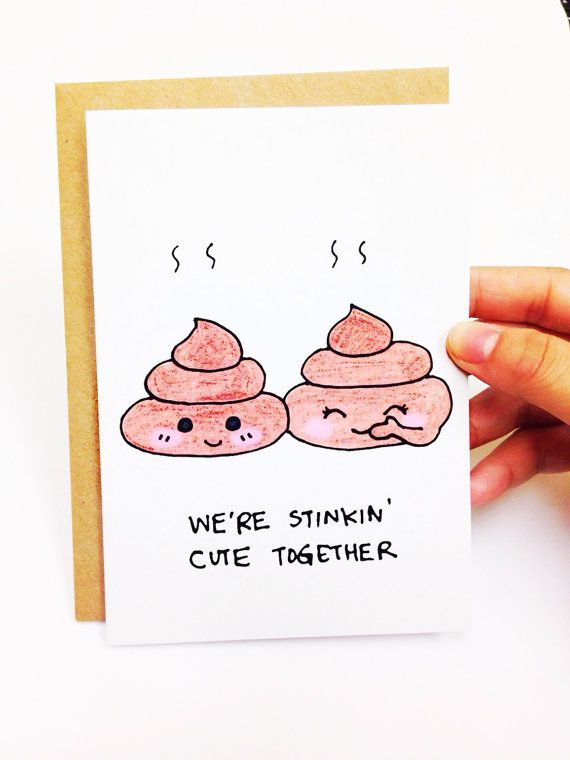 Cute Valentine card boyfriend valentines card by LoveNCreativity