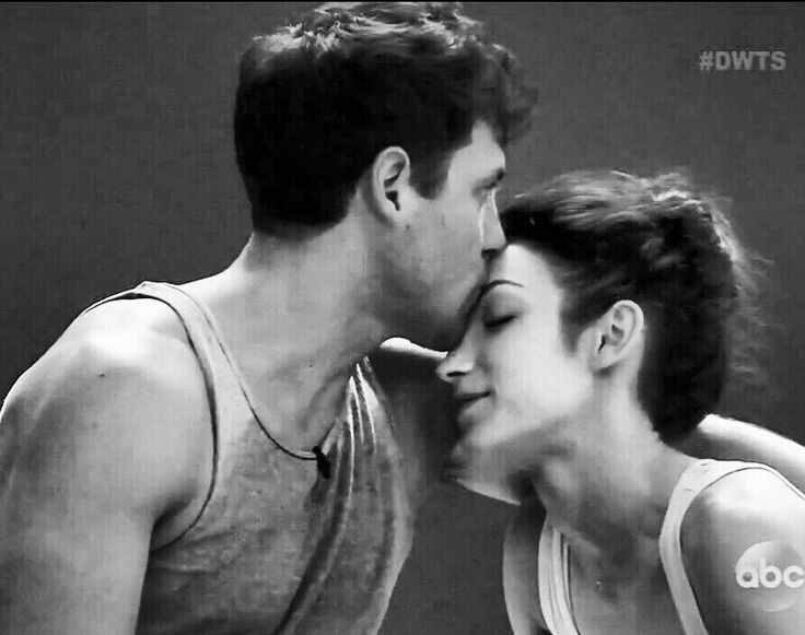 Meryl And Maks Dating Couple Kiss On Dancing With The: A Sweet & Tender Moment Between Maks And Meryl. Never Seen
