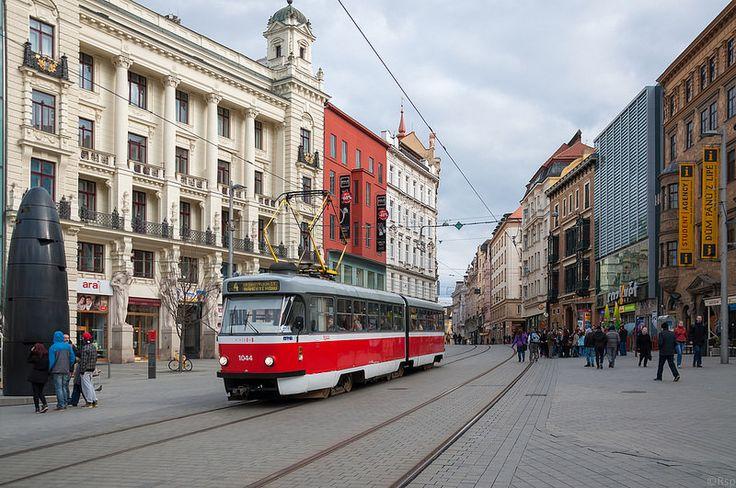 Brno Náměstí Svobody