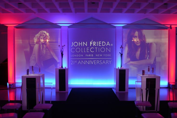 Our red and blue lighting really adds some drama to a recent John Freda Launch Event. For information on our lighting systems, visit www.gotchacovered.ie