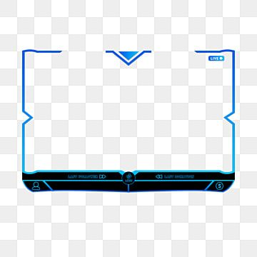 Twitch Stream Overlay Face Camera Border Animated Transparent No Text Template Border Clipart Streaming Overlay Face Cam Png Transparent Clipart Image And Ps Overlays Transparent Overlays Social Icons