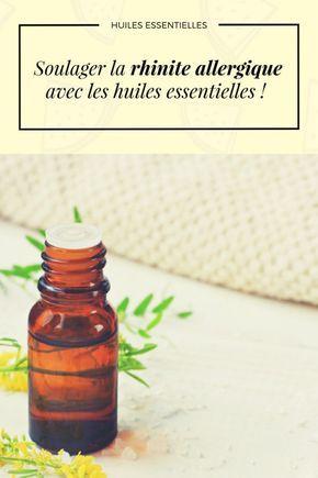 Soulager la rhinite allergique avec les huiles essentielles !