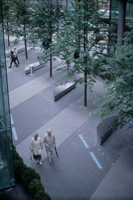 P Walker Sony Center Berlin #landscapearchitecture
