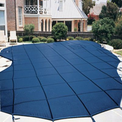 16'X32' RECTANGLE Commercial Mesh Inground Swimming Pool Safety Cover