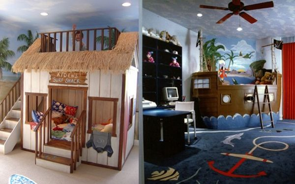 30 Cute and Cool Kids Bedroom Theme Ideas