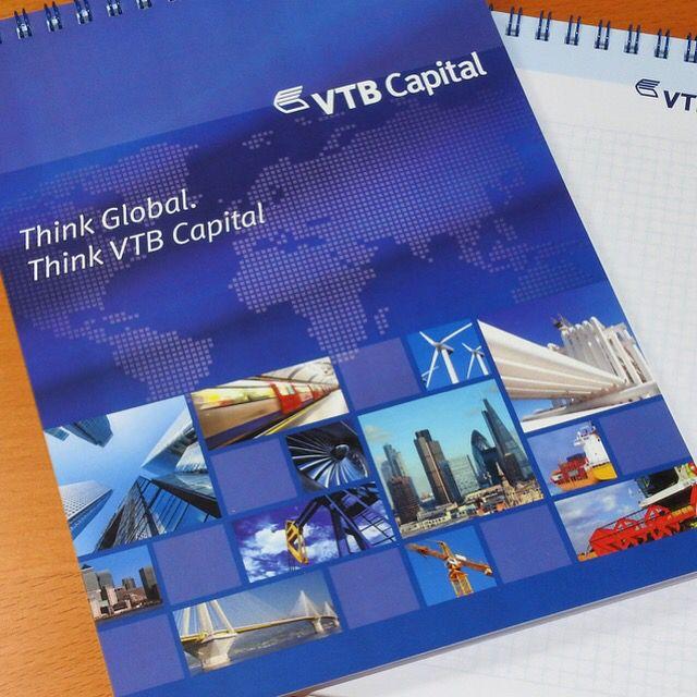 Bespoke note books for VTB Capital