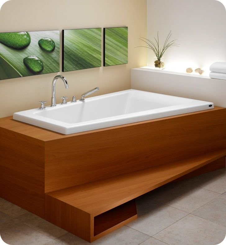 The 35 best Bathtubs images on Pinterest | Bathtub, Soaking tubs and ...