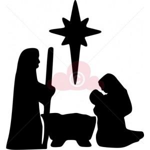 Nativity Scene Silhouettes | The First Noel..... | Pinterest