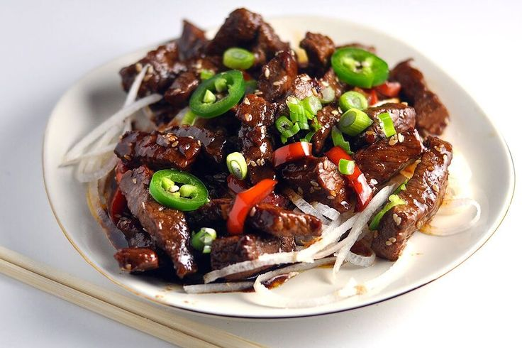 Crispy Sesame Beef (low carb, keto) | Ruled Me