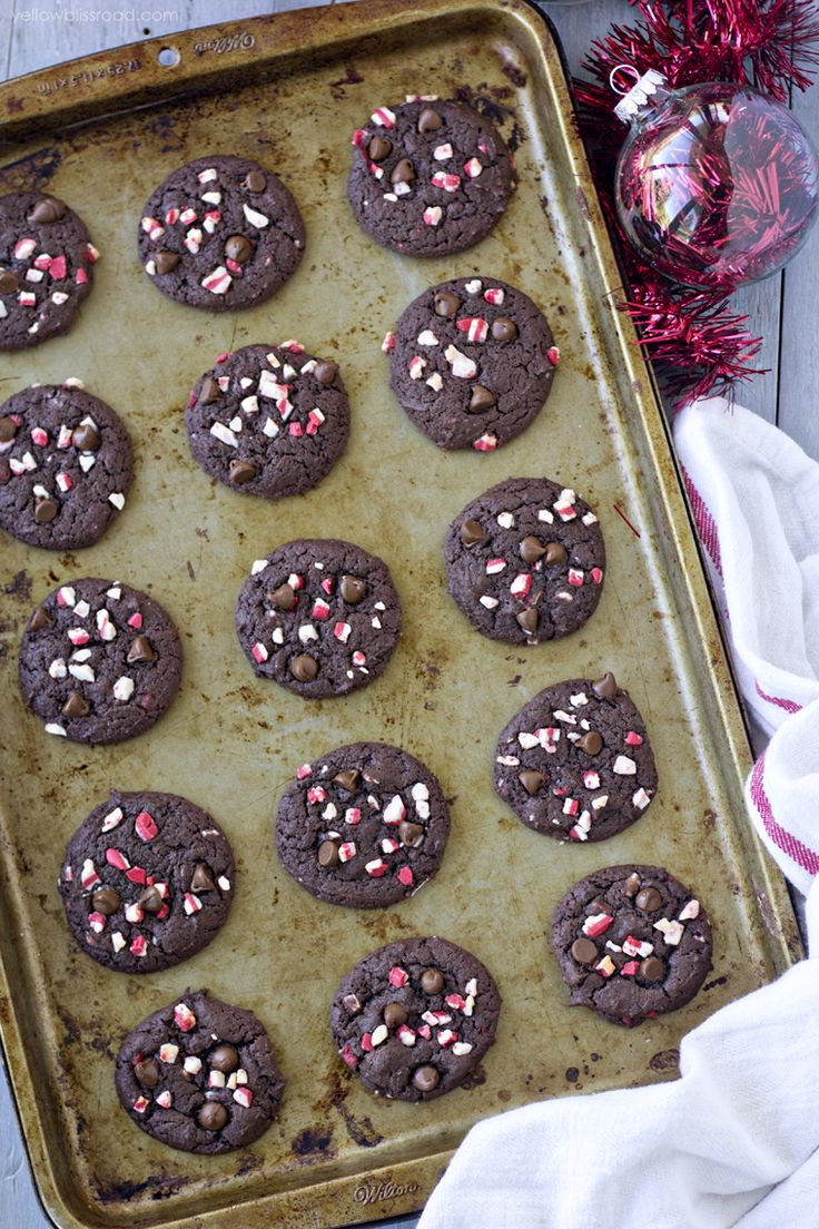 Best 25+ Chocolate peppermint cookies ideas only on Pinterest ...