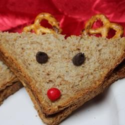 Reindeer Sandwiches I made these many years for grade school Christmas parties!