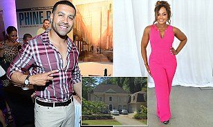 Real Housewives of Atlanta star Phaedra Parks  has been warned by ex-husband Apollo Nida not to sell their Atlanta mansion until Apollo's divorce claims against her have been resolved.
