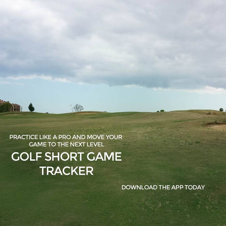 """Practice like a pro and get your short game to the next level! Download at http://www.golfshortgametracker.com…"""