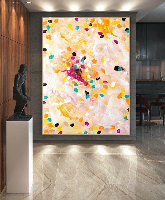 Xxl Art extra large canvas art,original art,modern canvas oil,large acrylic