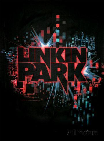 Linkin Park - Splatter Poster