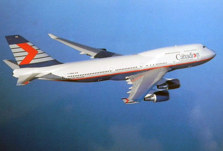 Canadian Airlines Boeing 747-400