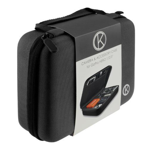 CamKix Case with Fully Customizable Interior for GoPro Hero 4/3+/3/2/1 and Accessories – Tailor the Case to Your Unique Needs - Ideal for Travel or Home Storage – CamKix® Microfiber Cleaning Cloth Included Keeps your GoPro and accessories safe, protected, and organized. Ideal for traveling. High quality EVA interior features compartments for GoPro Hero 1, GoPro Hero 2, GoPro Hero 3, or GoPro Hero 3+ camera plus housing, housing backdoors, SD memory card, battery, power p