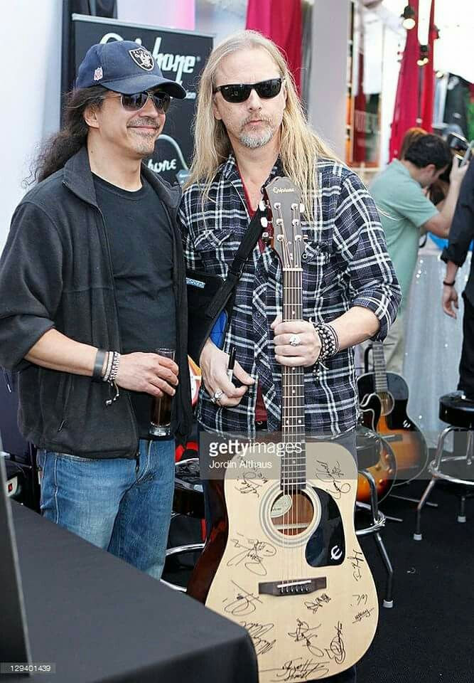 Mike Inez, Jerry Cantrell