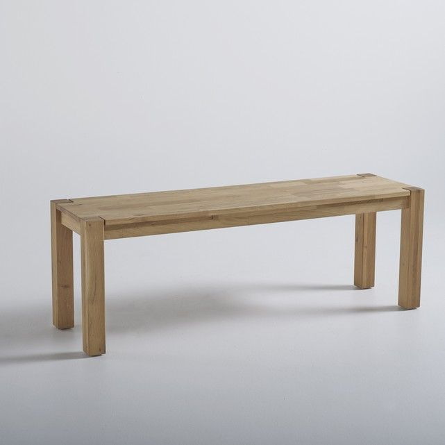 This ADELITA 2-seater solid oak bench boasts an up-to-the-minute look. Made in Europe. Features of ADELITA solid oak bench:Team with the matching ADELITA tables available on the website.Seats 2 people.Features of ADELITA solid oak bench:Solid oiled oak.See the full ADELITA collection available online at laredoute.co.uk.Size of ADELITA solid oak bench:Overall size:Width: 130 cmHeight: 45 cmDepth: 37 cm.Size and weight of parcel:1 parcel.L136 x H17 x D44 cm22 kgDelivered to your door:This…