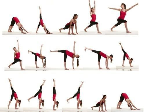 balance yoga sequence