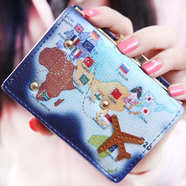 Find More Coin Purses Information about 2016 new woman women's purses map plane money bags ladies leather coin purse college students small change bag card bag mujer,High Quality wallet plastic,China wallet world Suppliers, Cheap manufacturer balloon from Shenzhen Idea Fashion Bags Co., Ltd on Aliexpress.com