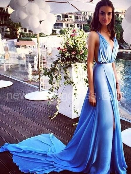 US$83.60-Sexy Sleeveless Spaghetti Straps Chiffon Evening Dress with Slit and Open Back. http://www.newadoringdress.com/a-line-princess-sleeveless-spaghetti-straps-chiffon-pleats-court-train-dresses-p317727.html. Shop for cheap prom dresses, white dress, plus size dress, little balck dress, evening gowns, casual dresses for sale, elegant dresses, party dresses for women, pageant dresses, dinner dresses. We have great 2016 evening gowns on sale. Buy Evening Gowns online at…
