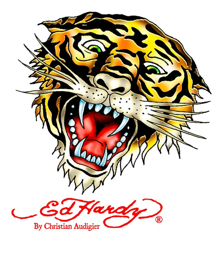 ed hardy Tiger | ed hardy Tiger | woo lee | Flickr