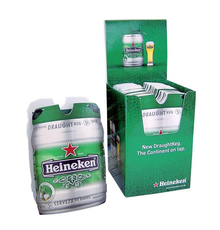 Heineken Z-CARDs in Point of Sale Box