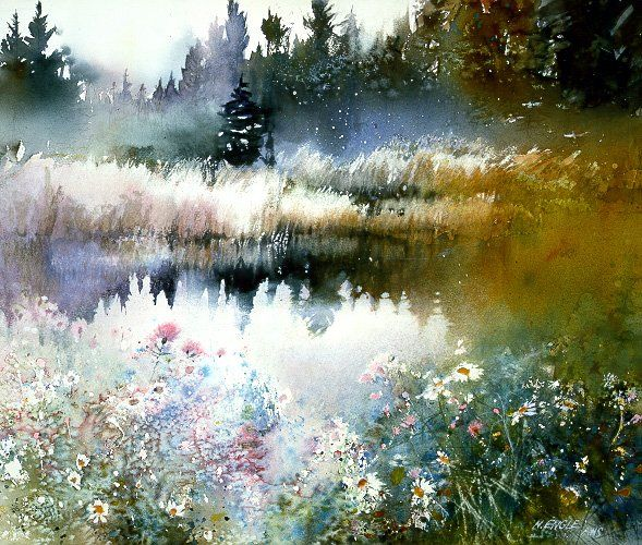 Wild Rose Marsh by Nita Engle I have this and looking at it is like being there