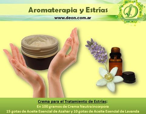 Cómo tratar las Estrías con Aromaterapia