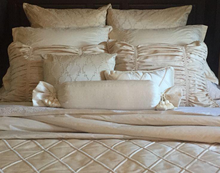 Silk neutral bedding