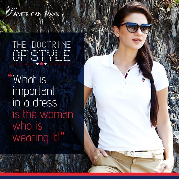 What is important in a dress is the women wearing it.#Women'sDay #FashionQuotes