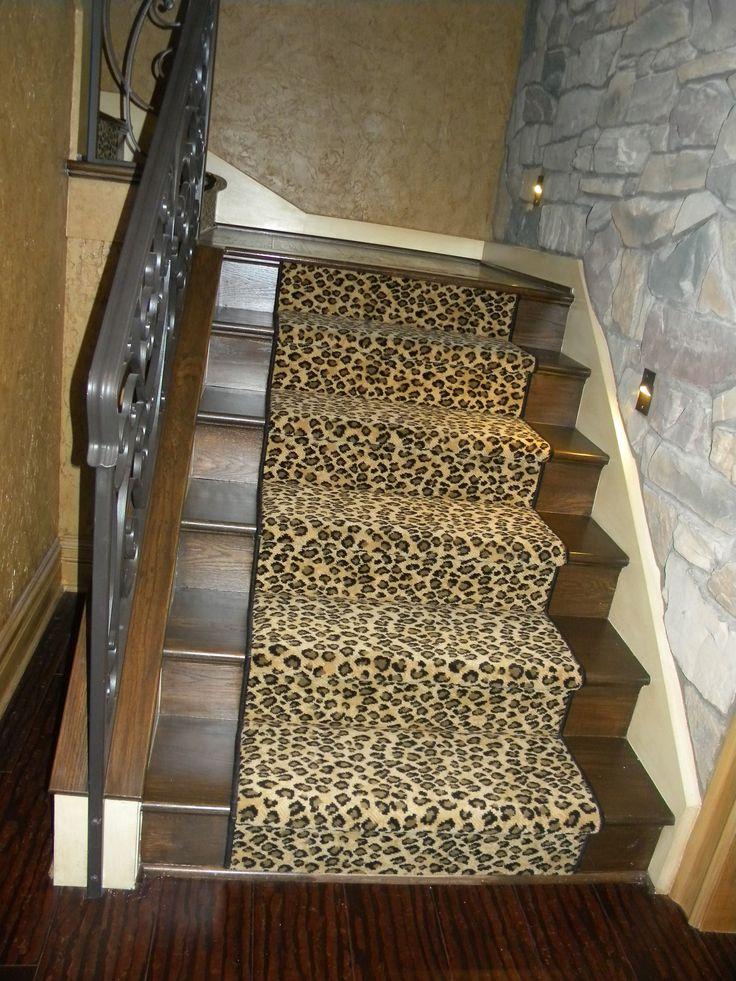 Best Leopard Stair Runner Stair Runner Printed Rugs Decor 640 x 480