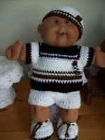 "Say ""Bye-bye"" -14"" CPK boy - Free Original Patterns - Crochetville"