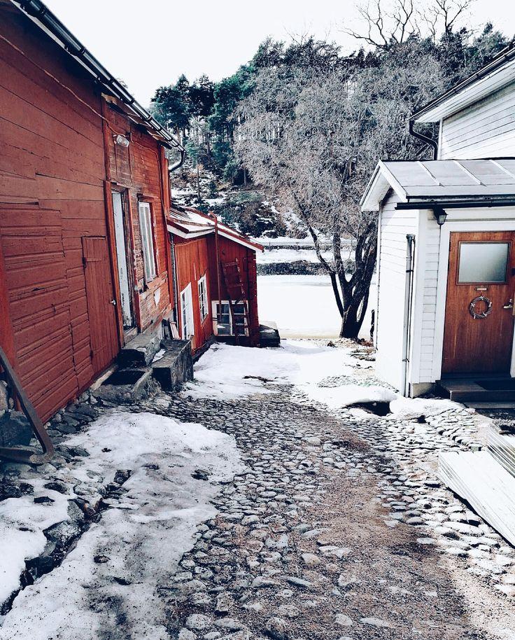 Minäkö keski-ikäinen?: Hello keväinen Porvoo