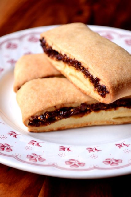 Fig Rolls - A classic biscuit that seems to have been involved in everyone's childhood. You can't go wrong with a buttery pastry wrapped around sweet figs.