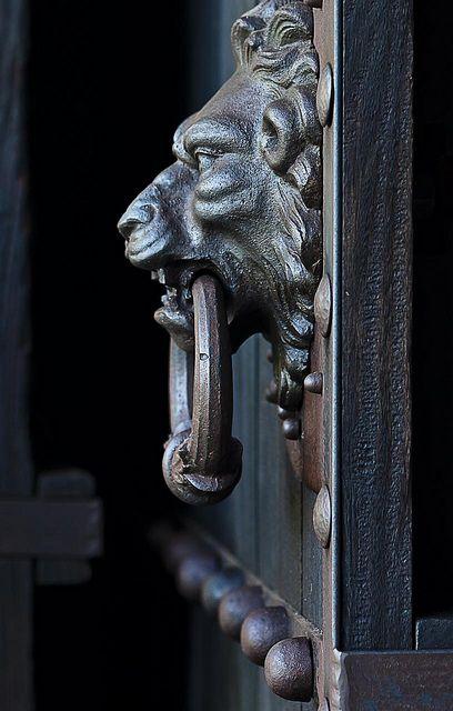 Door Knocker at Instituto Ricardo Brennand in Recife, Brazil - photo by Eduardo Hanazaki (eduhhz), via Flickr