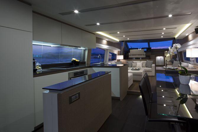Prestige 750 - Kat Marina - interior