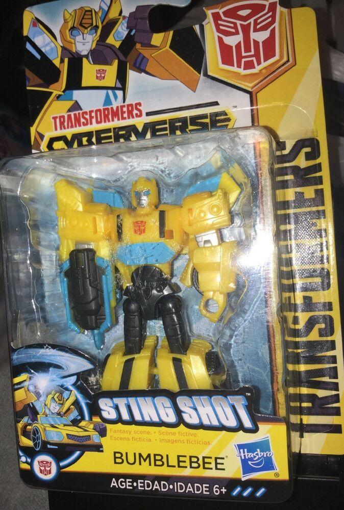 Action- & Spielfiguren #1 Transformers Cyberverse Action Figure Bumblebee Sting Shot Scout Class NEW
