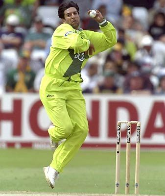 Wasim Akram (The King Of Swing) - getting in the mood. WTSC cricket season starts next week.