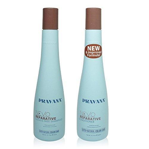 Pravana Nevo Reparative Shampoo & Conditioner 10oz natural evolution of hair care
