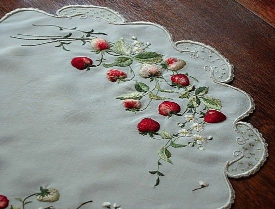 Society Silk embroidery